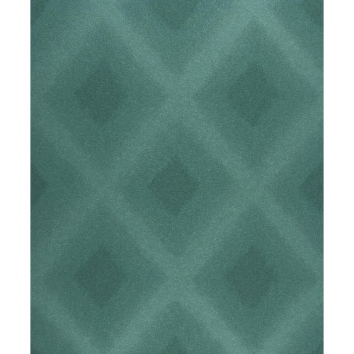 Papel pintado empire state diamond bleu emeraude