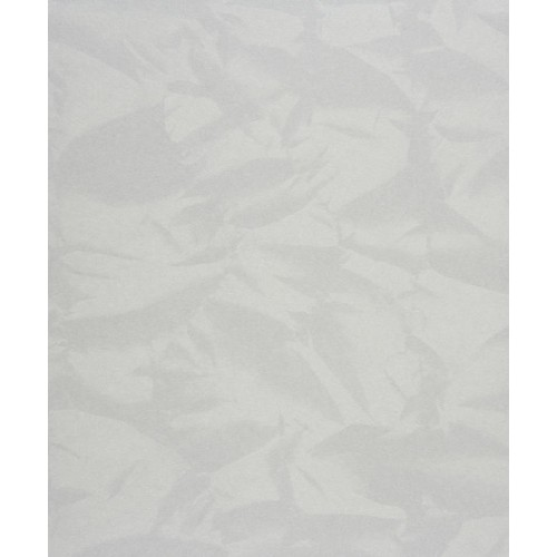 Papel pintado empire state froisse blanc